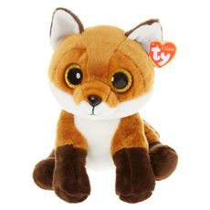 7ef7e7e4bf3 TY Beanie Boo Medium Fay the Fox Plus Toy