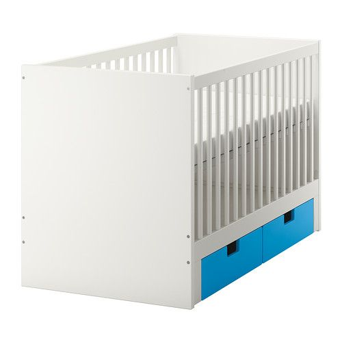 ikea stuva crib with drawers the bed base can be placed at two