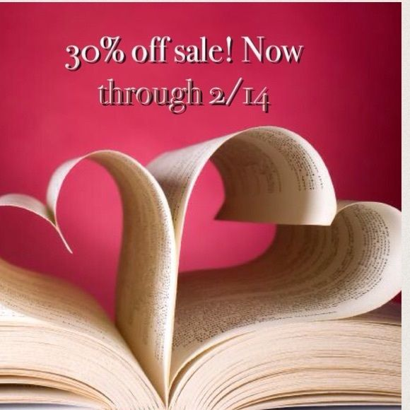 """❤️Valentine's Day Sale 30% off!!!❤️ Now through 2/14 receive 30% off of any item with a heart! Love an item without a heart? Still receive 20% off! When ready to purchase an item, just mention the promo code """"LOVE"""" and I will reduce the list price for your additional savings!!❤️ Happy Valentine's Day!!!❤️ Valentine's  Other"""