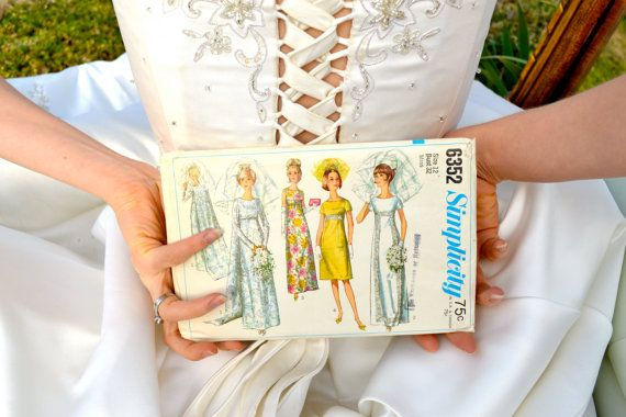 BRIDE Bridal Empire Dress Pattern  Vintage Empress by StorybookArtifact, $10.00