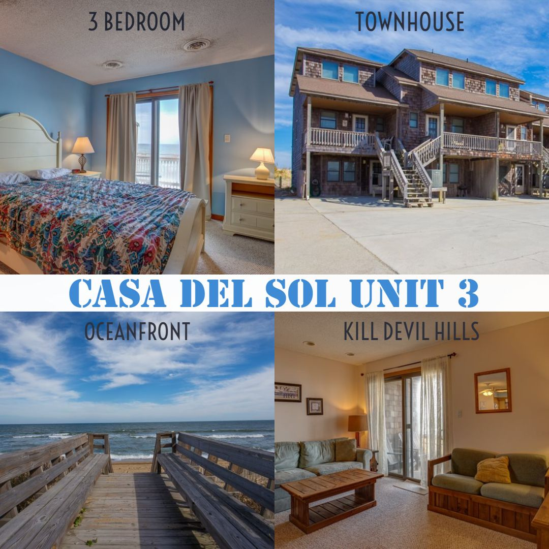 Casa del sol townhouse kdh vacation rental outer banks