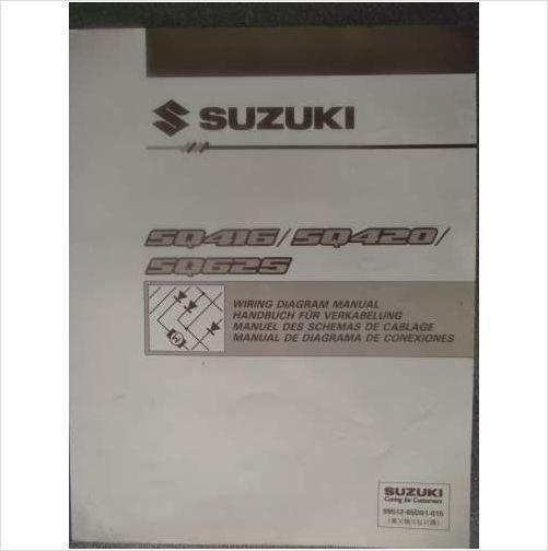 suzuki vitara sq416 sq420 sq625 wiring manual 1998 9951265d01015 on rh pinterest com 2000 Suzuki Vitara 2000 Suzuki Vitara