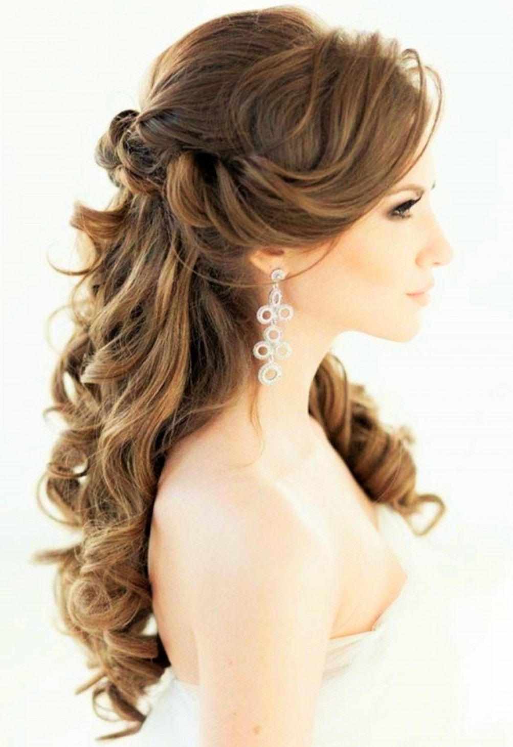 Wedding hair peinado pinterest wedding hairstyles hair and