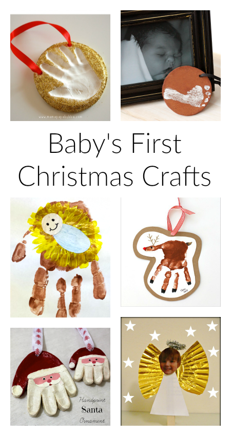 Super Cute Baby S First Christmas Crafts Baby Christmas Crafts Christmas Crafts Easy Christmas Crafts