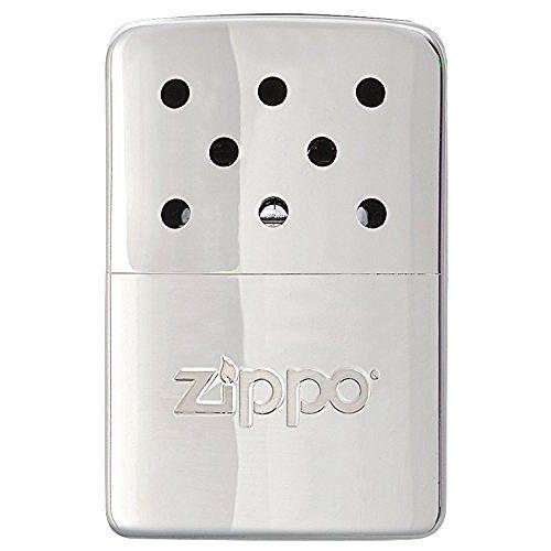 Zippo Hand Warmer High Polish Chrome Pocket Lighter