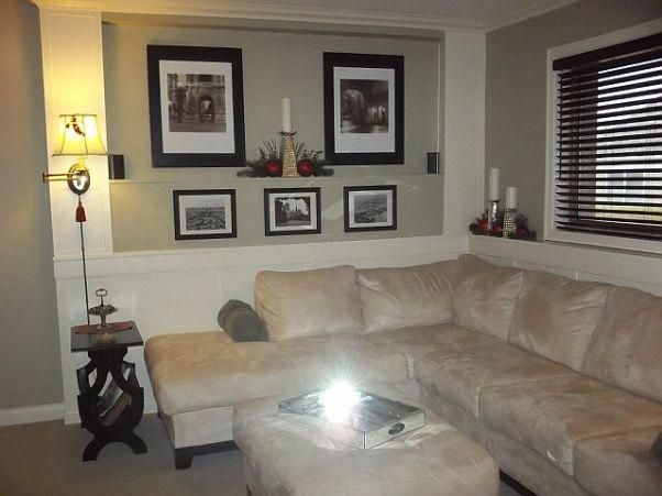 High class low cost family room remodel these are before and after pictures of also rh pinterest