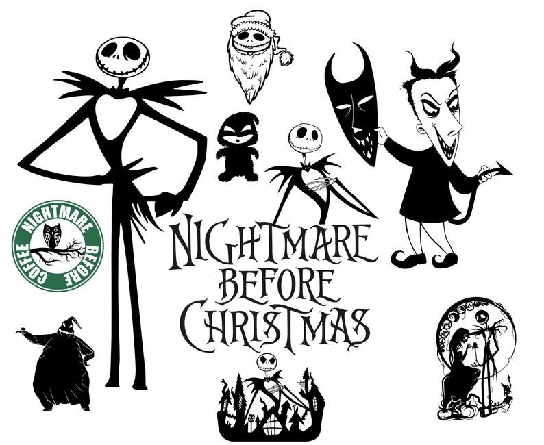 Nightmare Before Christmas Svg Christmas Svg Nightmare Svg In 2020 Nightmare Before Christmas Decorations Nightmare Before Christmas Nightmare Before Christmas Shirts