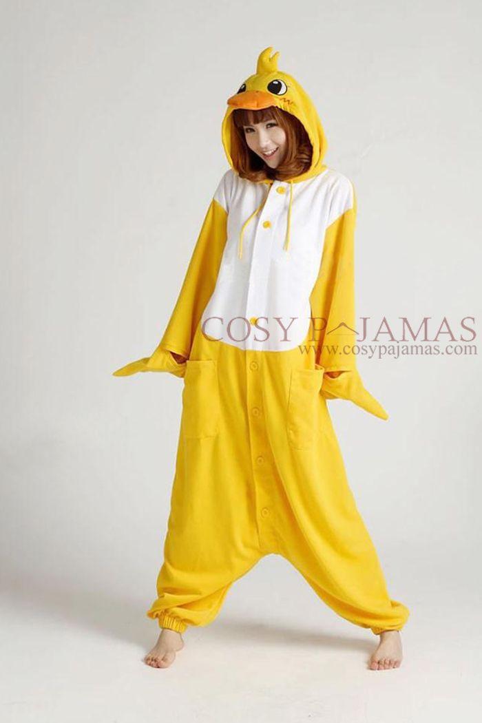 Animal Costume Duck Adult Onesie Kigurumi & Animal Costume Duck Adult Onesie Kigurumi   Dress up   Pinterest ...