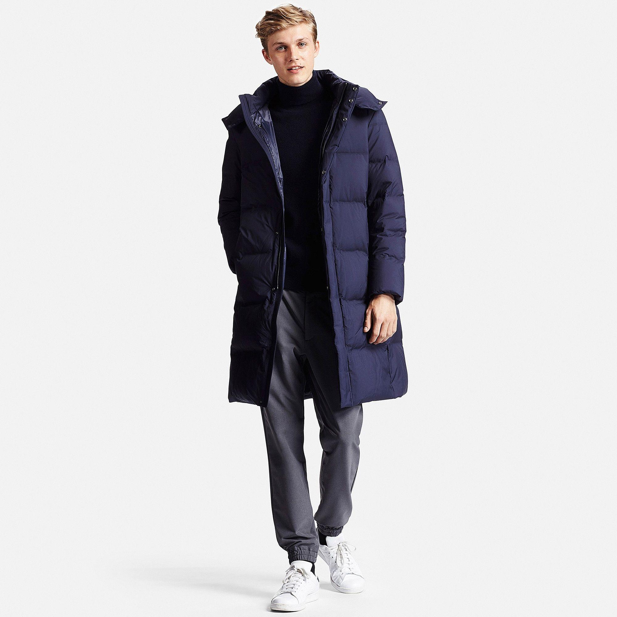aa14b2f16 MEN Seamless Down Long Coat | UNIQLO | Jeremy's Closet | Coat, Mens ...