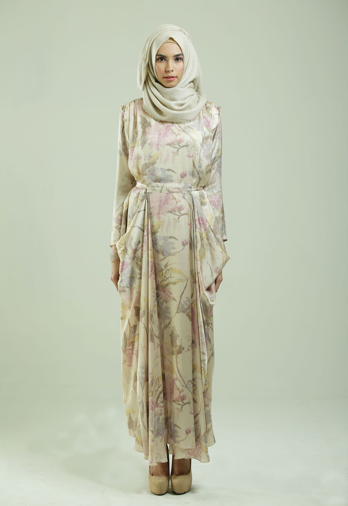 Ria Miranda - Lavender Dress  Miranda dress, Muslim women fashion