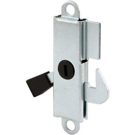 Aluminum Surface Mount Sliding Door Keeper Walmart Com Sliding Doors Glass Door Door Latch