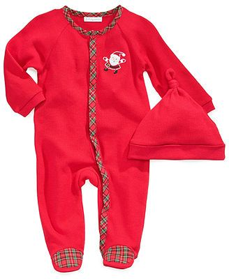 First Impressions Baby Clothes Glamorous First Impressions Baby Set Baby Boys 2Piece Hat And Footed Thermal Design Decoration