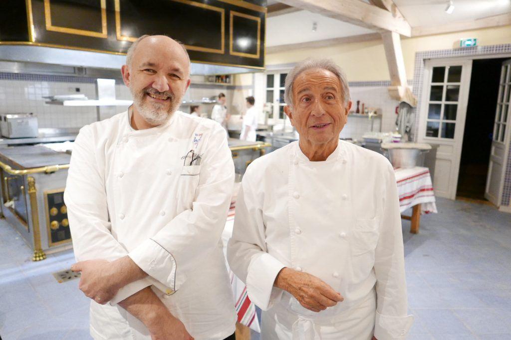 Olivier Brulard et Michel Guérard © GP | chef | Pinterest | Restaurants