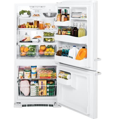 This Ge Artistry Series Bottom Freezer Refrigerator Boasts A