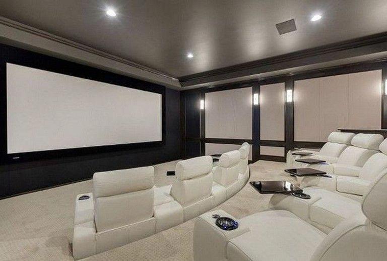 21 Amazing Modern Home Theater Design Ideas For Luxury Home Homedecorlivingroom Homedesignideas Homede Theatre Interior Home Cinema Room Home Theater Rooms