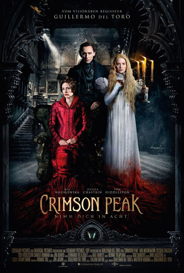 Crimson Peak Nimm Dich In Acht Polyprisma Filme Horror Filme Filme Serien