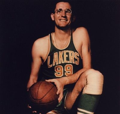 George Mikan was the first great big man in the NBA. As well as the first of many great Lakers big men.