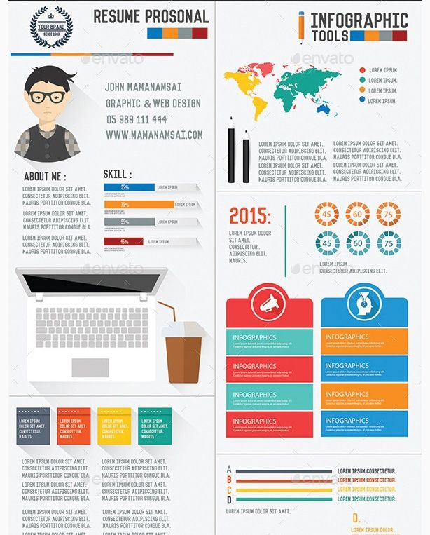 Creative Infographic Resume Templates Graphic Cloud Infographic Resume Template Infographic Resume Simple Resume Template