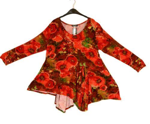 Kamuflage Scrumptious Red Poppy Print Tunika - Sommer 2013-Kamuflage ...