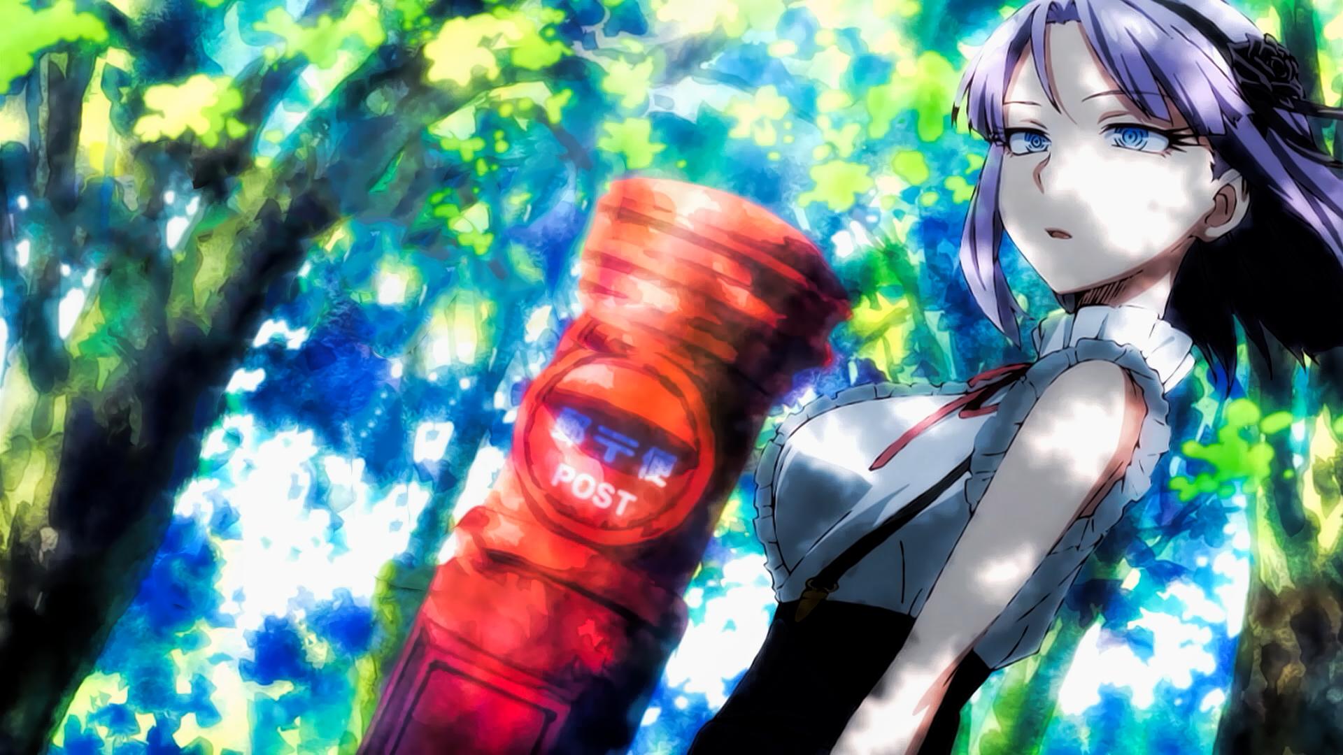 Anime Dagashi Kashi Shidare Hotaru Wallpaper Dibujos