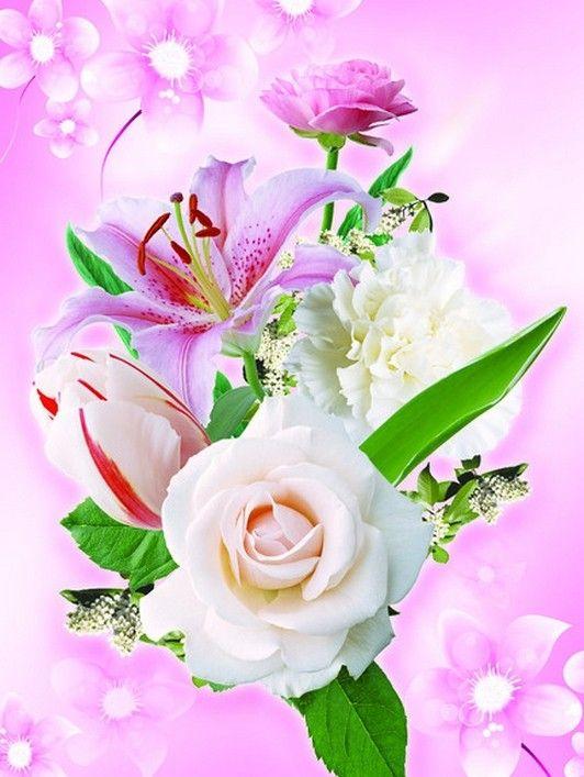 Fond D Ecran Bouquets Fleurs Flowers Wallpapers Flowers