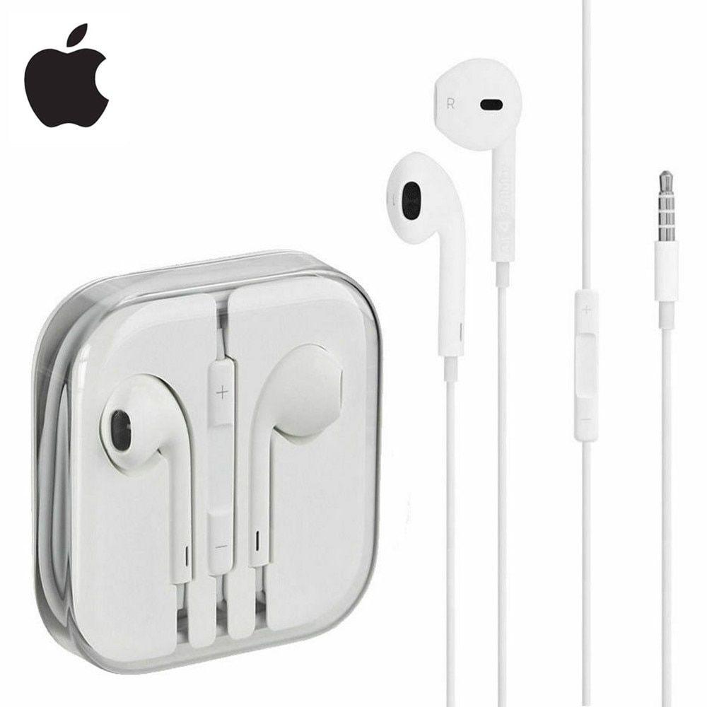 Original Apple Earpods 3 5mm In Ear Earphones Sport Earbuds For Iphone Ipad Android Sport Earbuds Earbuds Earphone