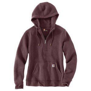 Carhartt Clarksburg Half-Zip Long-Sleeve Sweatshirt for Ladies