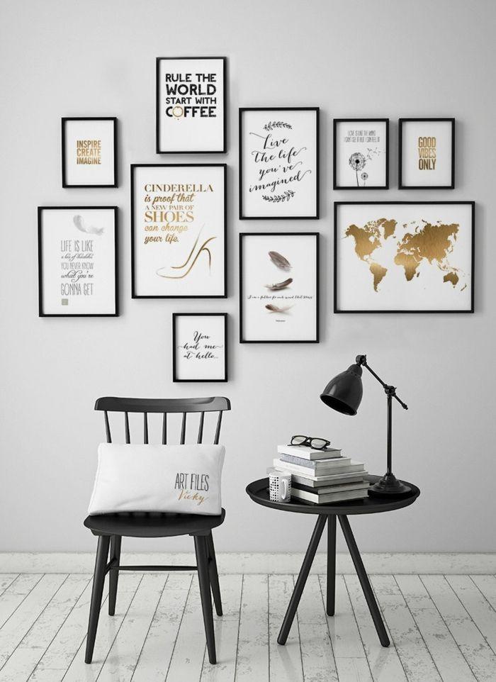 ▷ 1001 + ideas originales sobre cómo decorar con fotos   Pinterest ...