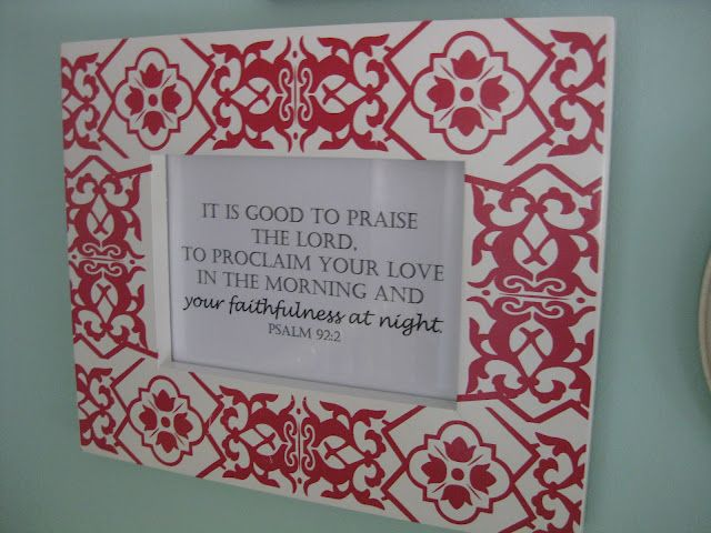 sweet vintage nursery, and this is the perfect bible verse for baby's room!