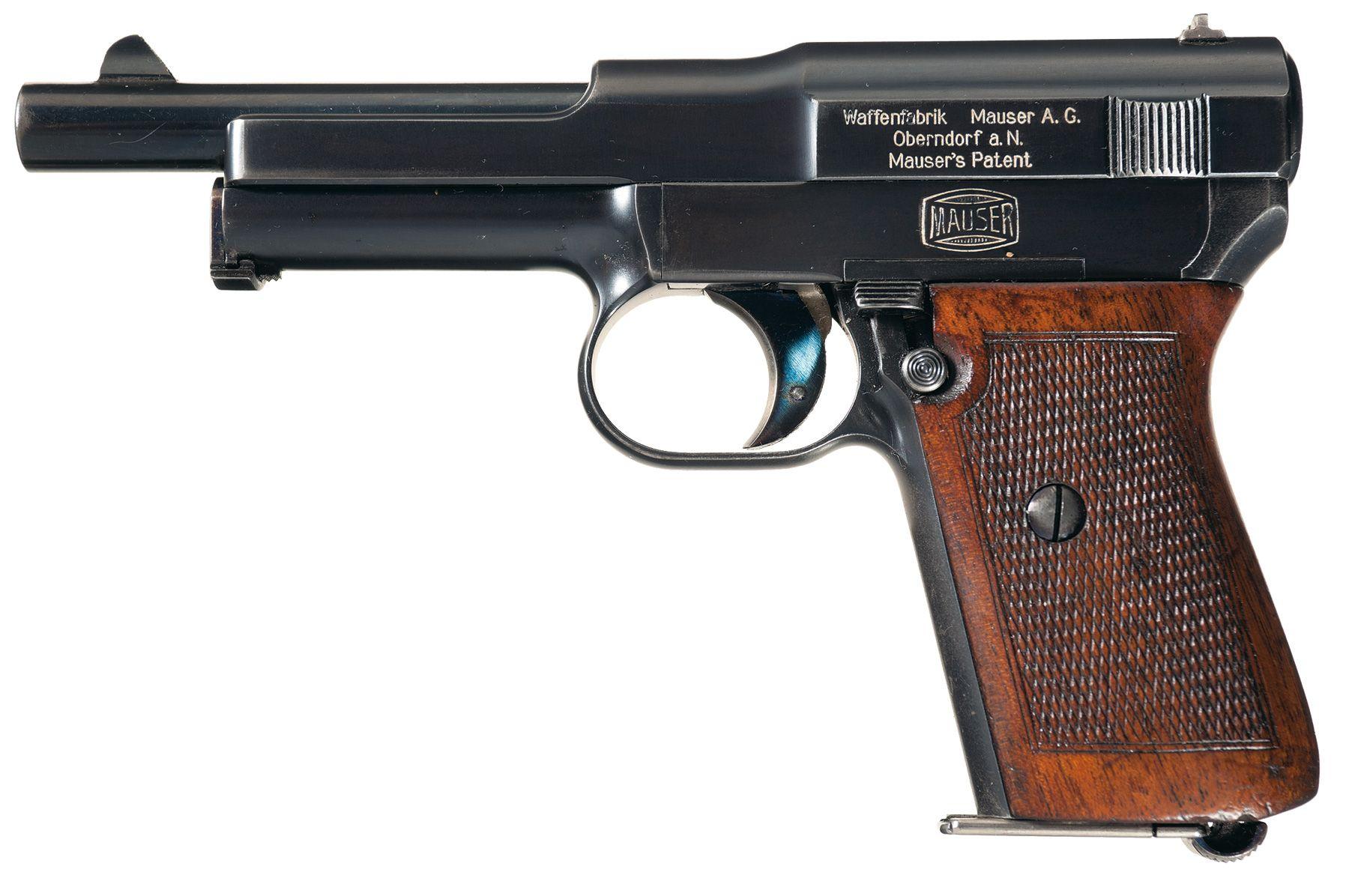 Mauser 1914 Pistol 7 65 mm   Bang 11   Pocket pistol, Hand