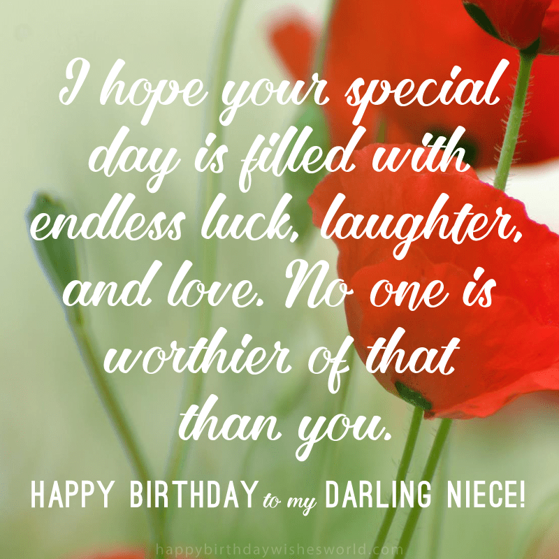 215 Ways to Say Happy Birthday Niece Happy birthday