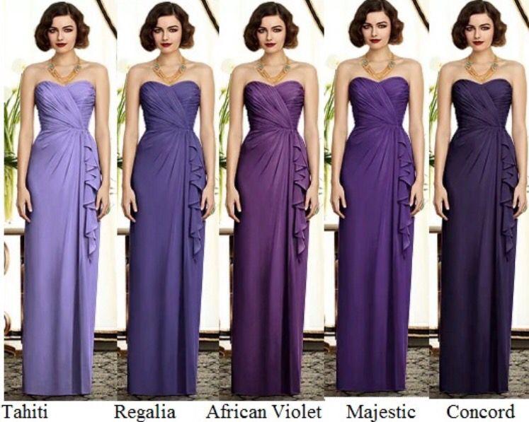 Concord Purple Flower Girl Dress