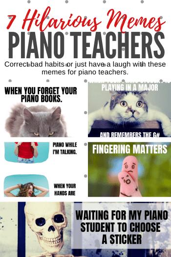 5 Hilarious Piano Teacher Memes That Capture Your Life Piano Teacher Teacher Memes Piano Memes