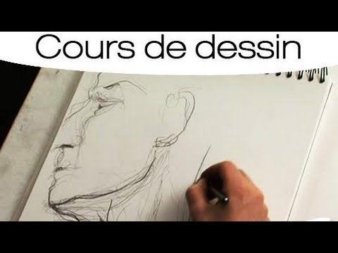 Apprendre A Dessiner Les Traits Du Visage Youtube Portrait Dessin