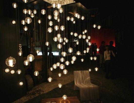 Whimsical Lighting House Inspiration Crystal Chandelier