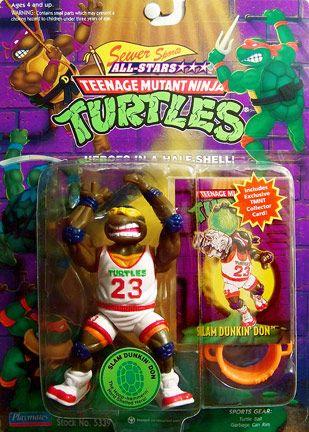 Http Mutantooze Org Wiki Wp Content Uploads 2012 06 Slam Dunkin Don Front Jpg Tmnt Card Teenage Mutant Ninja Turtles Toy Ninja Turtle Toys