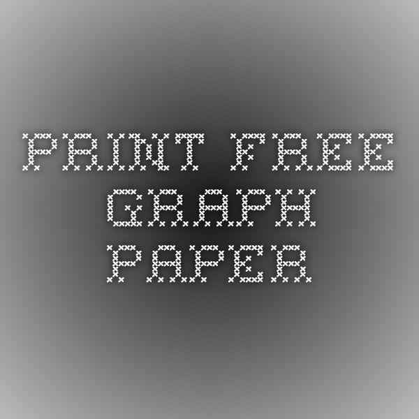 print free graph paper school pinterest graph paper