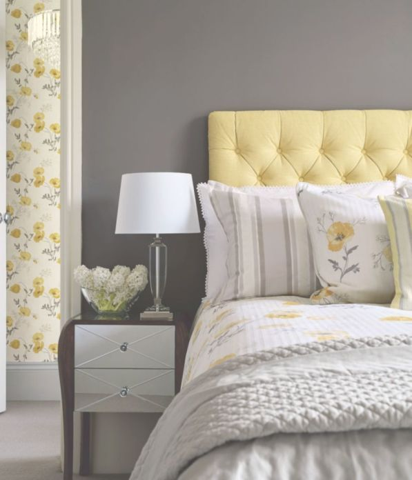 See our 20 favorite small bedrooms. 60 Visually Pleasant Yellow And Grey Bedroom Designs Ideas