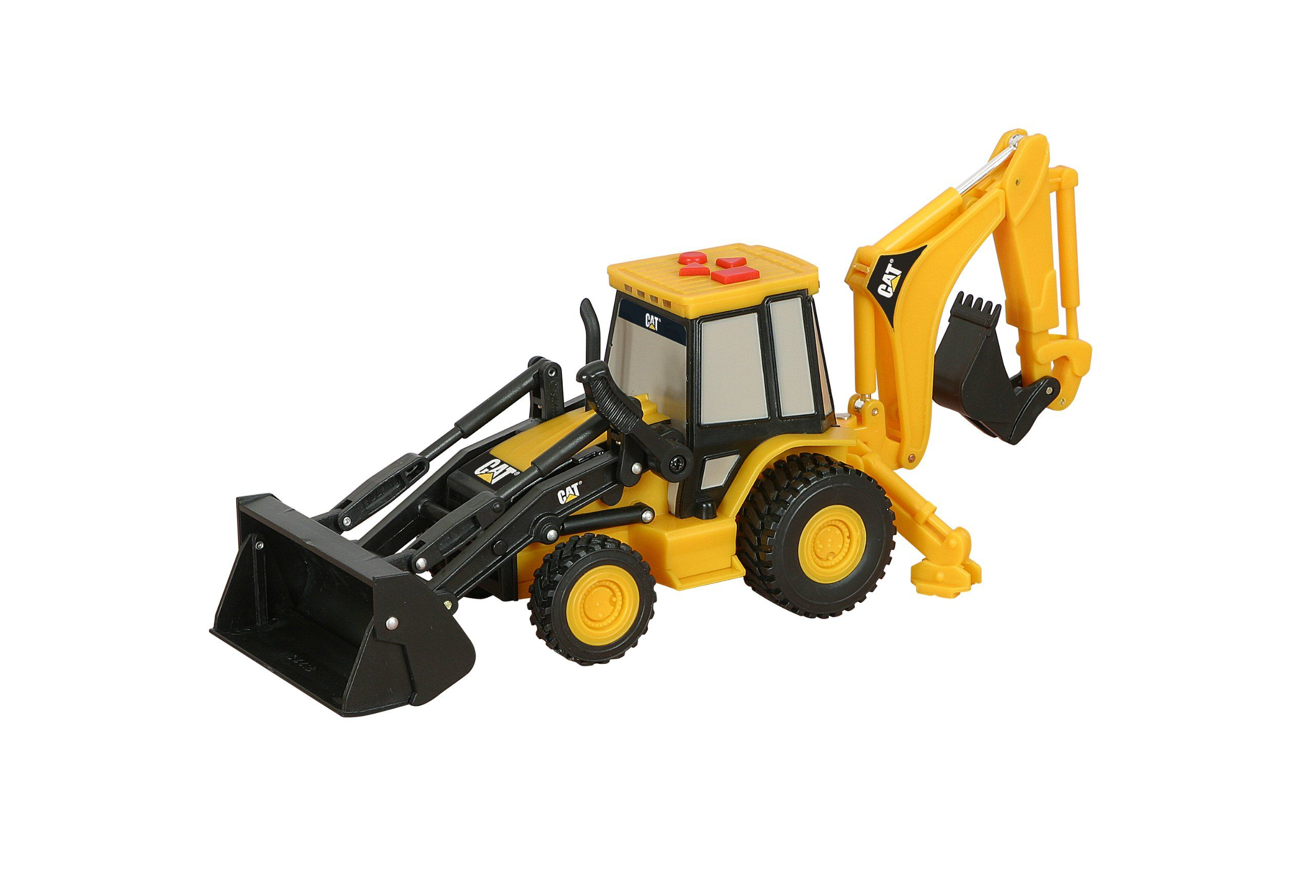 Digger Toy Toy State Caterpillar Big Builder Machines 34624 Toy Backhoe