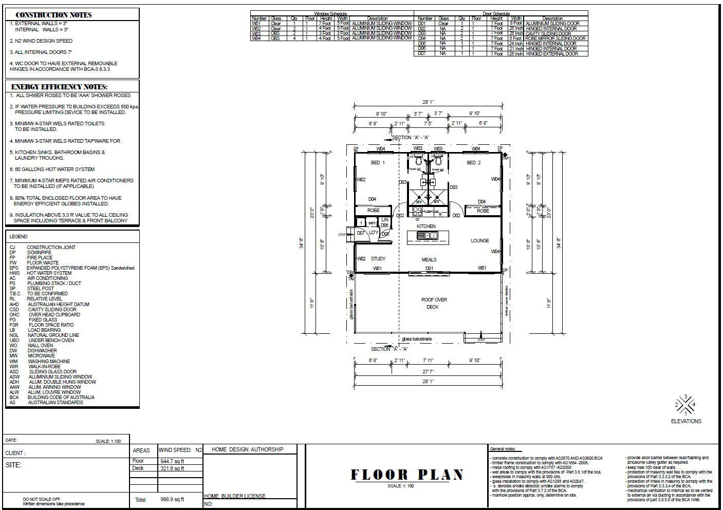 89 2 Bed Study Granny Flat Plans 89 8 M2 Preliminary House Plan Set Buy Here Australianfloorplans With Images Granny Flat Plans Flat Plan House Plans