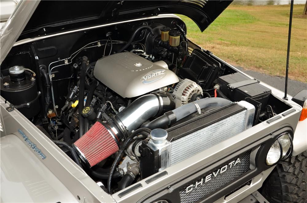 5.3 Liter Vortec Chevy engine, 4speed overdrive