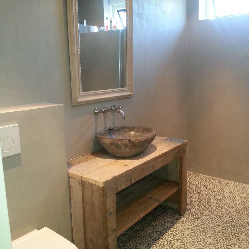 Beton cire badkamer google zoeken bathroom besties for Badkamer beton cire
