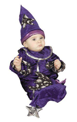amazoncom cute newborn baby wizard costume 0 6 months