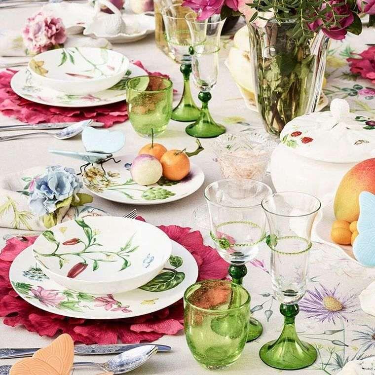 Idee Deco Table Printemps Chic Et Fleurie Beautiful Table