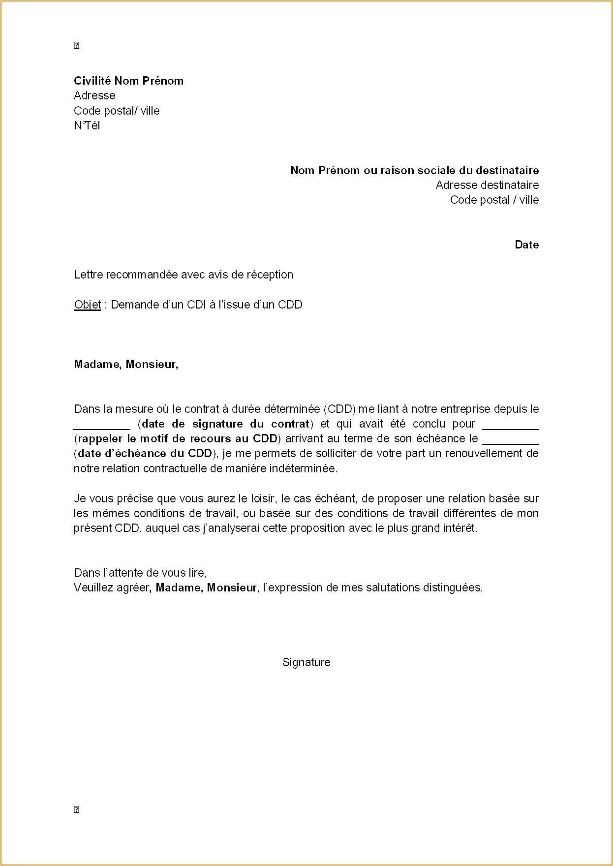 Pin On Format Lettre
