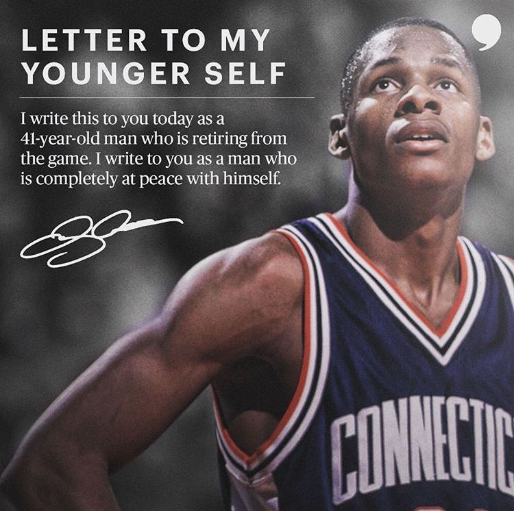 Ray Allen Retirement Letter Letter To My Younger Self  Quotes