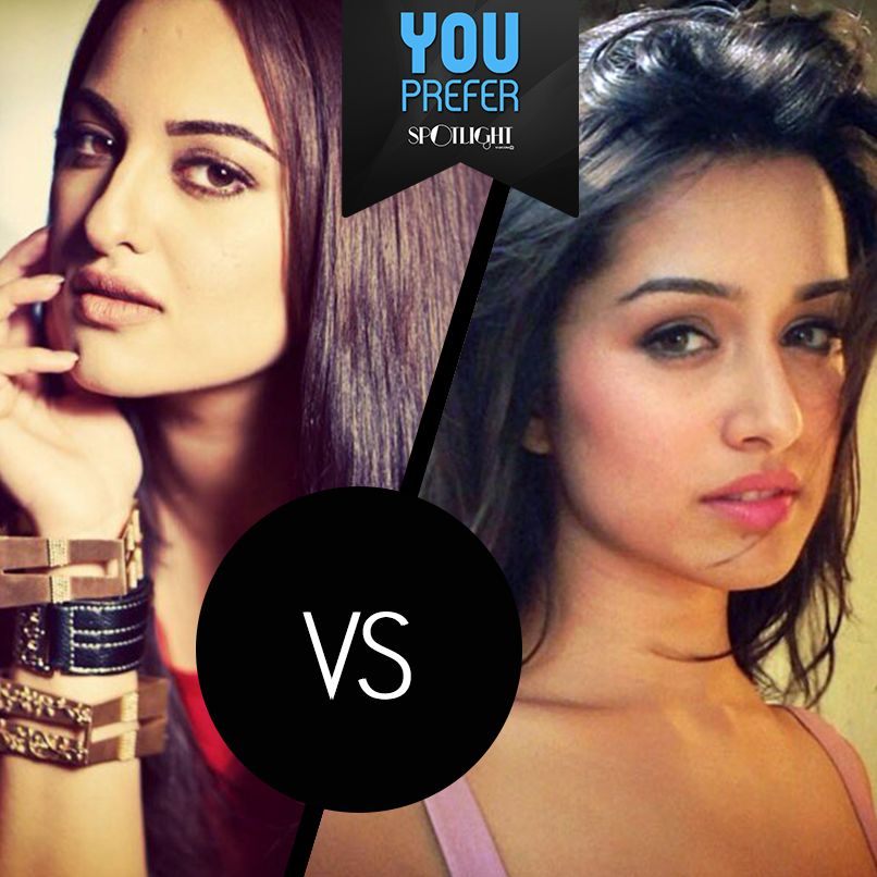 Which star child do you prefer, #SonakshiSinha or #ShraddhaKapoor?  While Sonakshi stole our hearts (and all the debut awards) in Dabangg, Shraddha made us fall in love in Aashiqui 2.   So what's your pick?