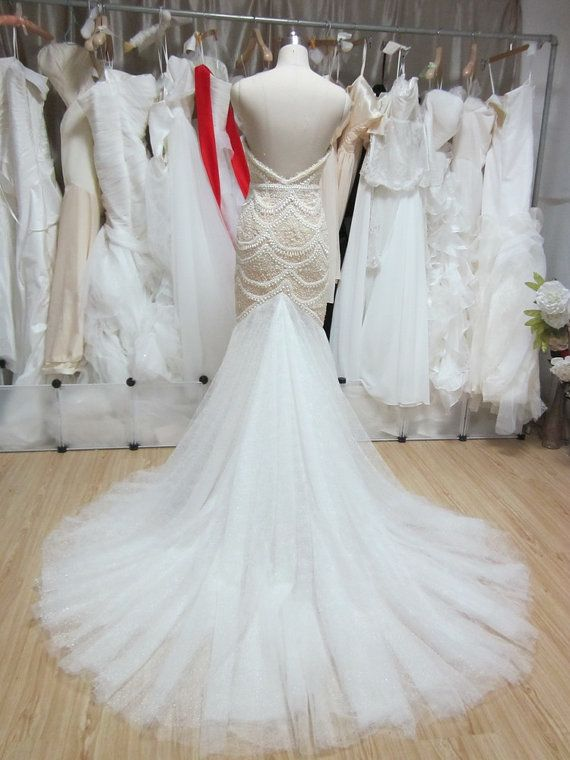 Hand Beaded and Embroidered Inspired WEDDING DRESS, J\'aton Inspired ...
