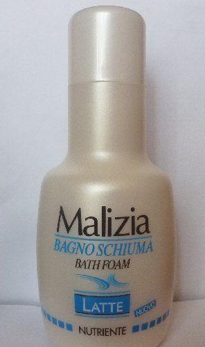 Malizia Bath Foam Bagno Schiuma Latte By Malizia 9 99 Malizia