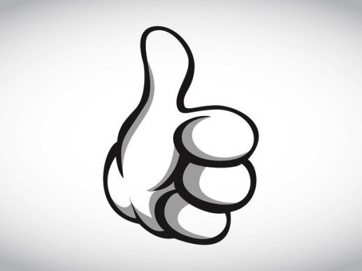 Thumbs Up Vector Ai Pdf Free Graphics Download Free Graphics Free Clip Art Thumbs Up